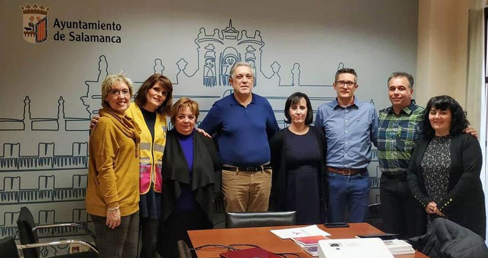 Visitamos con Voluntarios por Madrid la Agencia Municipal del Voluntariado de Salamanca